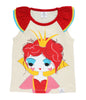 Curious Wonderland Queen of Hearts flutter Tee
