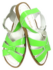 Saltwater Sandals Child Lime