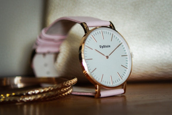 Upstate Watch - Pink and Rose Gold