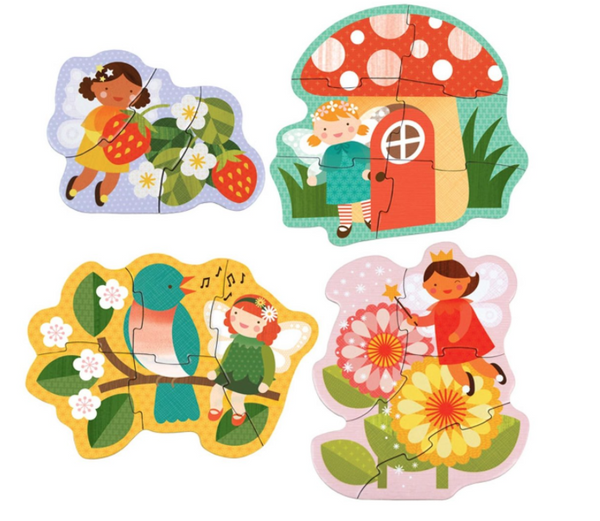 Petit Collage Beginner Puzzle Fairy Friends