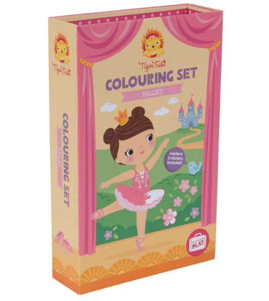 Piccolo Colouring Set Ballet