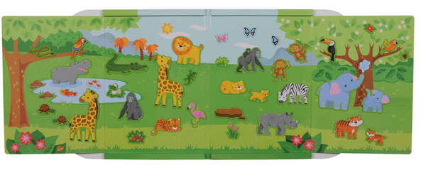 Tiger Tribe Magna Carry Jungle Magnets