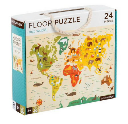 Floor Puzzle Our World