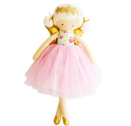Alimrose Willow Fairy Doll Blue and Pink