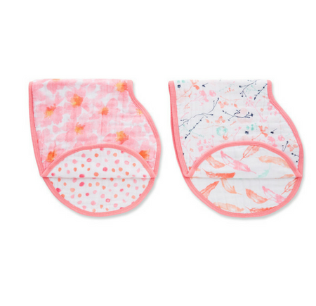 Aden and Anais Burpy Bib Petal Blooms