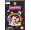 Tiger Tribe Colouring Set Neon Unicorn