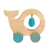 Petit Collage Wooden Animal Car Whale