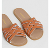 Saltwater Retro Slides Tan