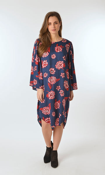 Ellis and Dewey Bell Sleeve Dress