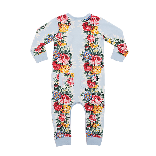 Rock Your Baby Hollywood Chintz Long Sleeve Playsuit
