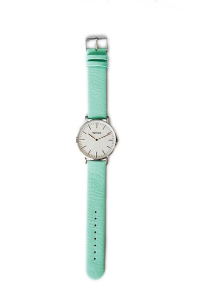 Upstate Watch - Mint and Silver