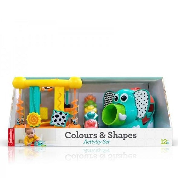 Infantino - Activity set - Colours & Shapes - Speelgoed en Cadeaus - Keekabuu