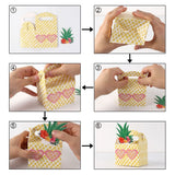 OURWARM PARTY 10Pcs Pineapple Watermelon Candy Bag Gift Box Hawaii Luau Birthday Wedding Favors Summer Table Party Decoration