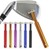 Golf Equip Ment Sharpener Cleaner Golf Club Head Metal Strong Wedge Grooving Square Groove Cleaning Sharpening Tool