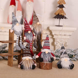 2020 New Christmas Faceless White Beard Elf Dolls Festival Decoration Christmas Tree Ornament Home Ornaments