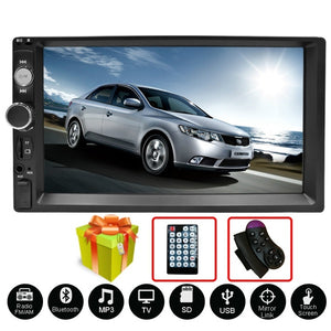 2 Din Car Radio Autoradio 7' HD Multimedia Player 2 DIN Touch Screen Auto Audio Car Stereo MP5 Bluetooth Android Car Audio MP5 Player 7010B