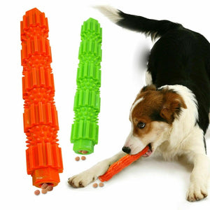Dog Chew Toy  Dispensing Rubber Teeth Cleaning Toy