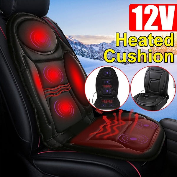12V 48W Heated Car Heated Car Seat Cushion Seat Cover Heater Winter Heated Car Driver Cushion Seat Cushion Winter Hot Warmer Pad Cover