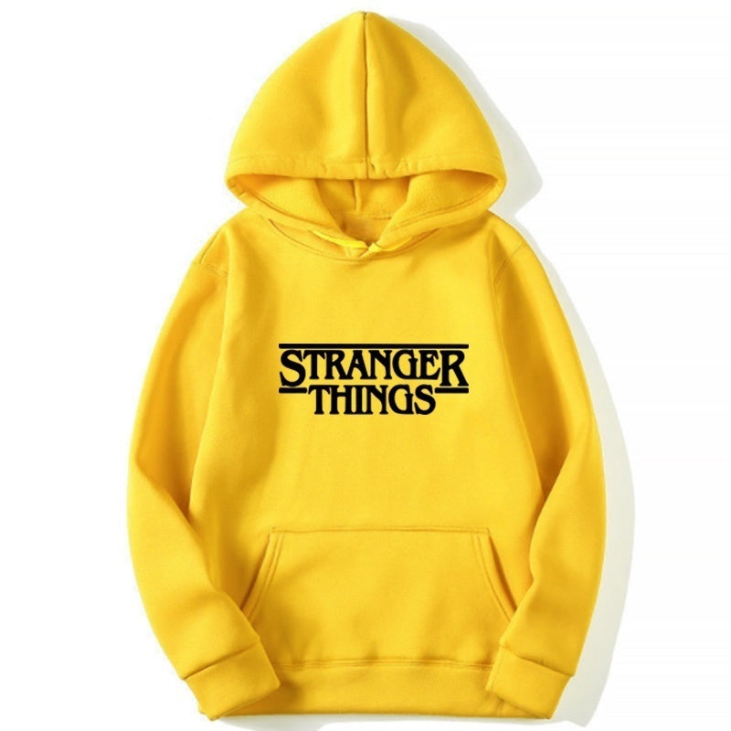Stranger Things Hoodie Coat Long Sleeve Pullover Hoodies(S-4XL)