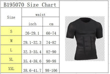 Load image into Gallery viewer, Men's Slimming Body Shaper Vest Compression Tummy Belly Control Waist Slim T-Shirt Tank Tops