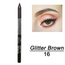 Load image into Gallery viewer, 2 Pcs Fashion Makeup Eye Cosmetics Colourful Pigment Long Lasting Waterproof Eyeliner Pencil