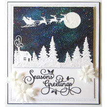 Load image into Gallery viewer, Christmas Snow Frame Metal Cutting Dies for DIY Scrapbooking Photo Album Decorative Embossing Paper Card Crafts Die Cut
