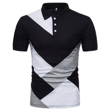 Load image into Gallery viewer, Summer Men 's Casual Polo Shirt Fashion Personality Slim Fit Polo Shirt