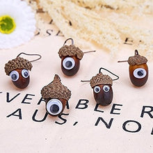 Load image into Gallery viewer, 200/500/700pcs Plastic Self-adhesive Moving Eyes Round Lifelike Black Mini Wiggle Doll Bear Making Puppets Toy Accessories DIY Children School Classroom Arts