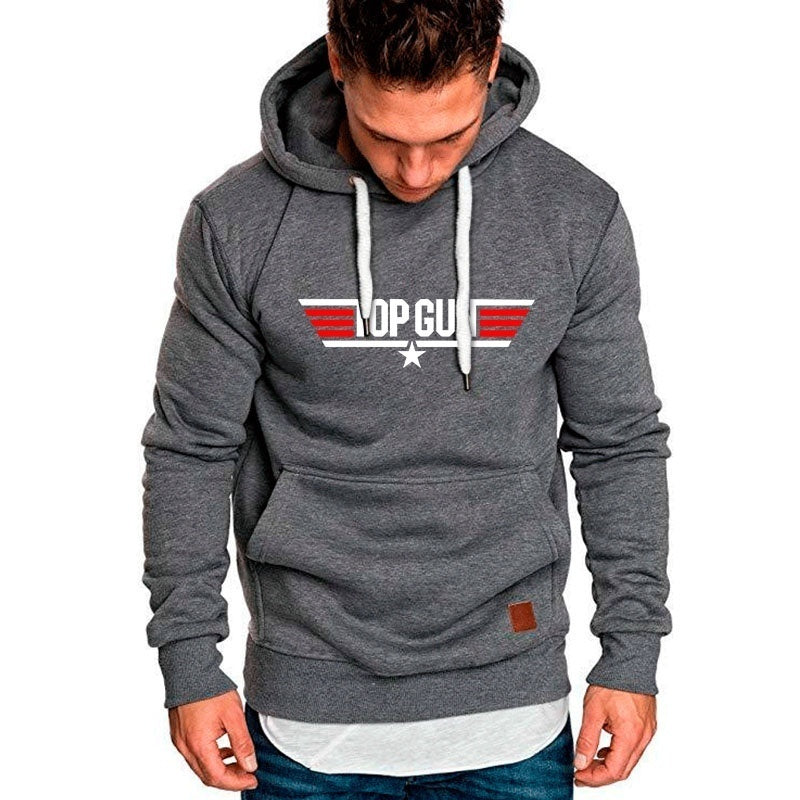 New Men Fashion Personality Hoodies Autumn and Winter Warm Sweater Men's Casual Pullover Hoodie