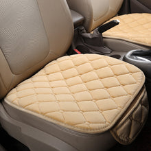 Load image into Gallery viewer, 1/2/3PCS Universal Autumn Winter Rhombus Front & Rear Row Car Seat Cover Pad Small Mat Auto Chair Cushion