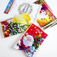 Load image into Gallery viewer, 10PCs Christmas Self Sealing Bags Plastic Candy Cookies Pouch Gift Bags New Year Gift Bag Pouch