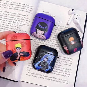 Anime Naruto Silicone Protective Case Cover Airpods Charging Case For Apple Airpods(Apple Airpods Is Not Included)