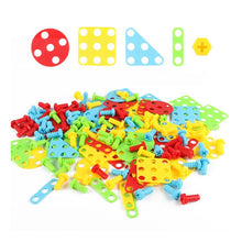 Load image into Gallery viewer, Kids Montessori Game DIY ABS Colorful Assemble Toys149/229/309 Pcs