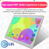 10.1inch 8G+256G Android 8.0 1960 * 1080 IPS Screen 10 Core MTK6797 4G WiFi Tablet PC Dual SIM Dual Camera Call Phone Tablet Gifts