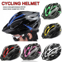 Load image into Gallery viewer, 1Pc Cycling Helme Adult Safety Adjustable Breathable Ultralight Outdoor Mountain Bike Helmet