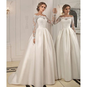 Sweet Girls Sweetheart Lace Embroidered Wedding Dress A-line Formal Party Dress Evening Prom Gowns Plus Size S-5XL