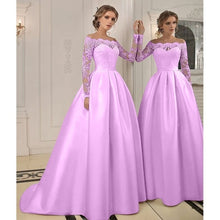 Load image into Gallery viewer, Sweet Girls Sweetheart Lace Embroidered Wedding Dress A-line Formal Party Dress Evening Prom Gowns Plus Size S-5XL