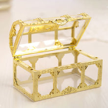 Load image into Gallery viewer, 1 Pc Transparent Pirate Treasure Box Crystal Gem Jewelry Box Storage Organizer Box Treasure Chest