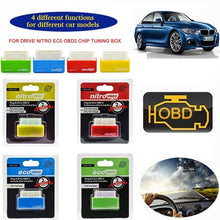 Load image into Gallery viewer, Auto Fuel Saver Eco/Nitro OBD2 Chip Tuning Box Plug & Drive for Benzine/Diesel Car