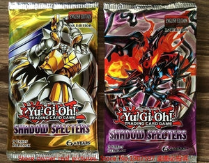 18/36/216 pcs/lot Yugioh Cards Magic Trap Y806 Shadow Specters Look For The Legendary Ghost English Version FamilyYu-Gi-Oh duel Playing card  Game Paper Cards Toy (Size: 18PCS)