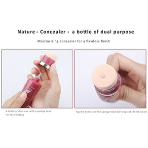 2019New 40ml/15g Makeup Foundation Oil-control Base BB Face Liquid Foundation Cream Concealer Matte Face Full Coverage Professional Make Up Cream
