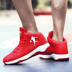 New Men and Women Basketball Shoes Teenager Basketball Shoes Running Shoes Training Shoes Breathable Shoes