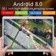Load image into Gallery viewer, 2019 WiFi Tablet PC 2560*1600 IPS Screen 10.1\ Inch Ten Core 4G+64G/128GB  Android 8.1 Dual SIM Dual Camera Rear 13.0MP IPS