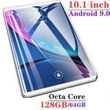 2019 WiFi Tablet PC 2560*1600 IPS Screen 10.1\ Inch Ten Core 4G+64G/128GB  Android 8.1 Dual SIM Dual Camera Rear 13.0MP IPS