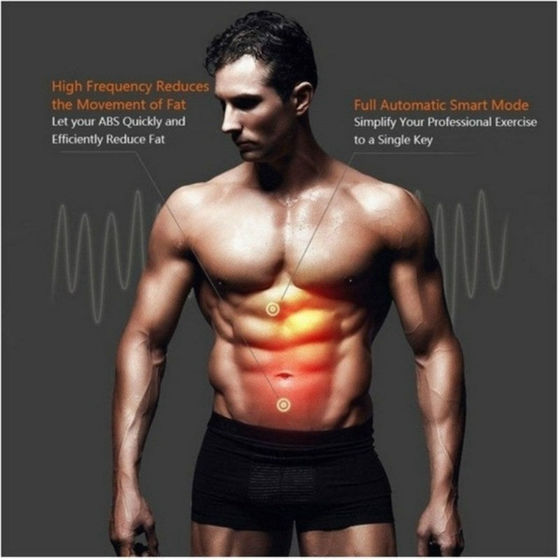 EMS Abdominal Muscle Trainer Smart Body Building Fitness Abs for Men & Women Arm & Leg & Hip Trainer