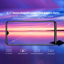Load image into Gallery viewer, 6.7 Inch Note20 Smartphones Large Memory 6+128GB Ultra-thin with Face UnLock Cellphone Dual SIM Cards Phone Support T Card  Unlocked Smartphone 4G Network