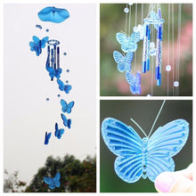Load image into Gallery viewer, Butterfly Wind Chime Bell Hanging Dream Catcher Ornament Yard Garden Living Room Decorating -HYX