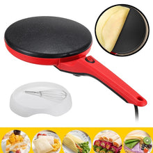 Load image into Gallery viewer, 600W Electric Crepe Maker Non Stick Baking Pancake Pan Frying Griddle Machine