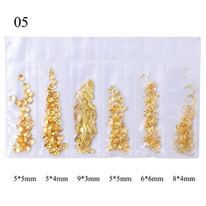 1set Golden Shell Moon Star DIY Filling Materials Filler Epoxy Resin Jewelry Making ORP