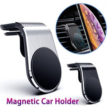 Load image into Gallery viewer, Magnetic Car Phone Holder for Phone In Car Magnet Mount Free Angle Air Vent Support Smartphone Car Mobile Support